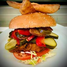 4P Pickerel Burger - Papertown Motor Inn