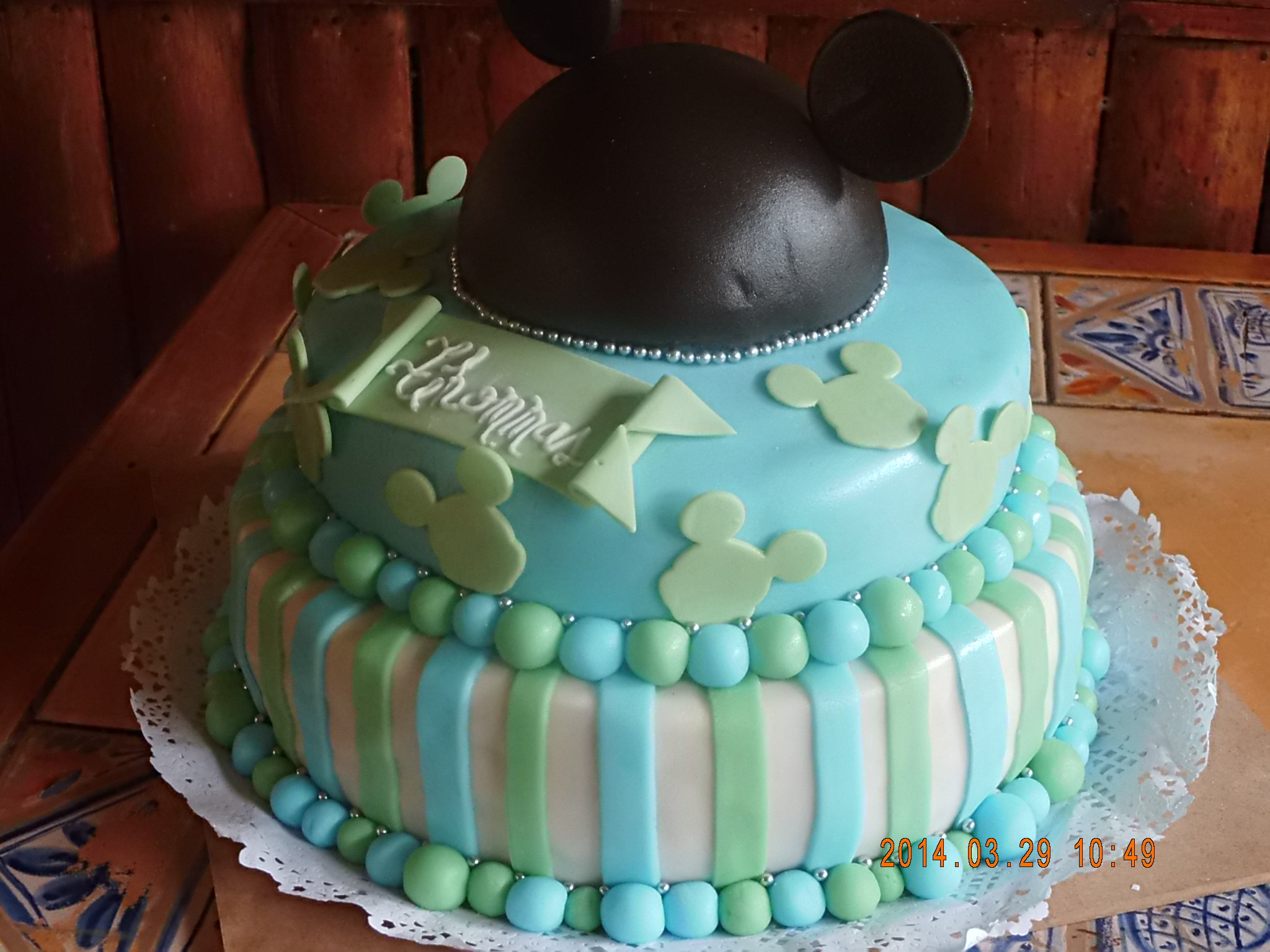 Baby shower mickey