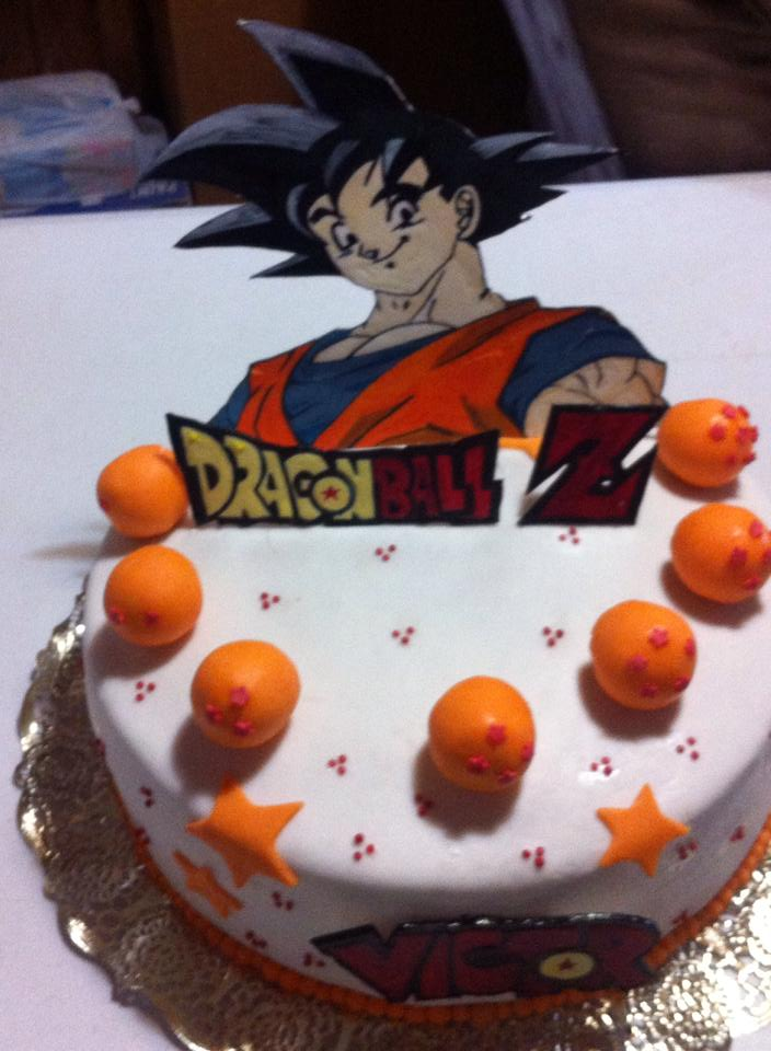 Pastel dragon ball z