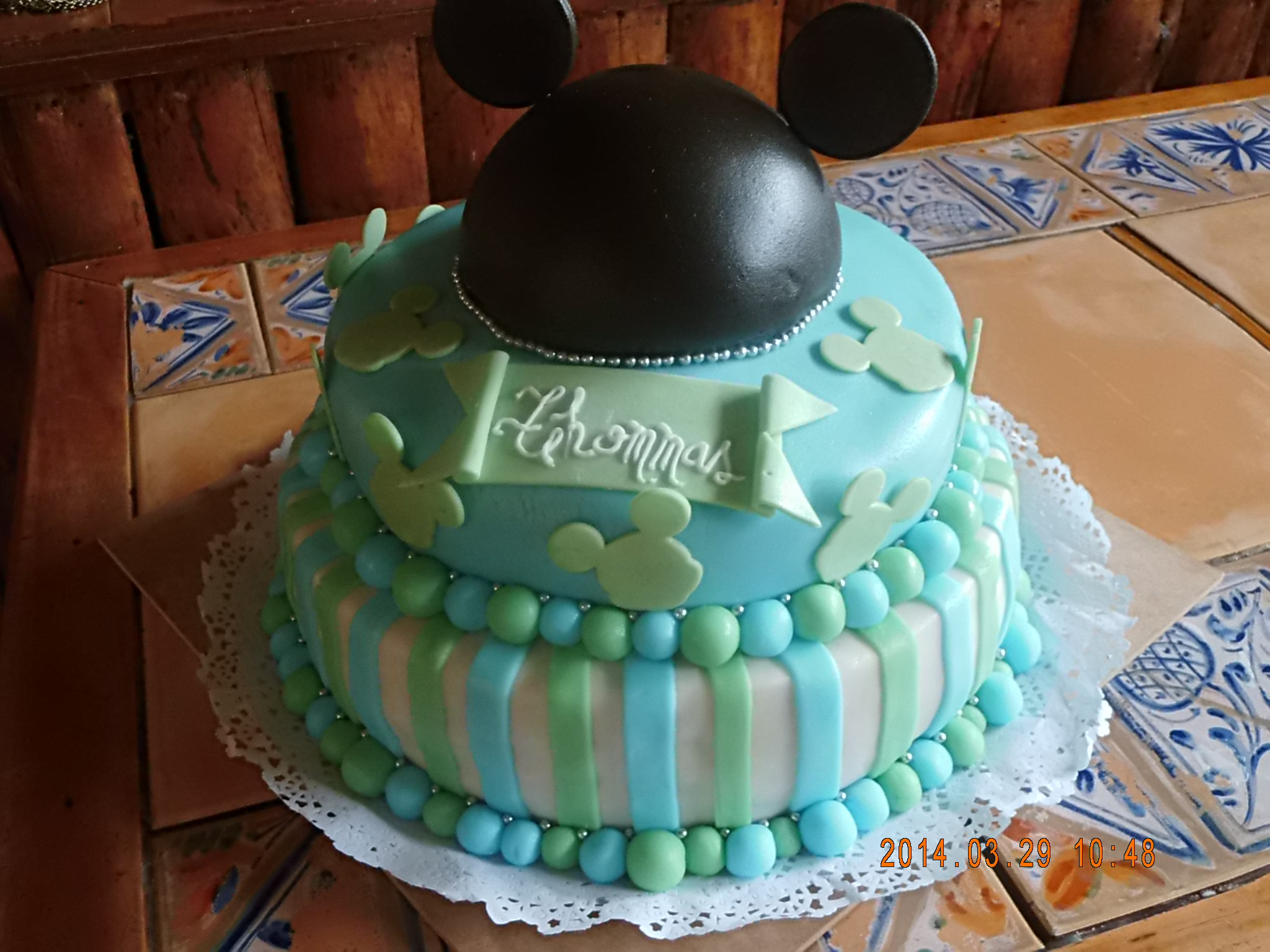 Mickey, baby shower