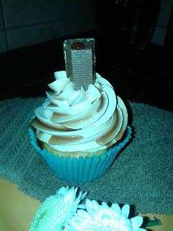 Cupcake con mousse de manjar