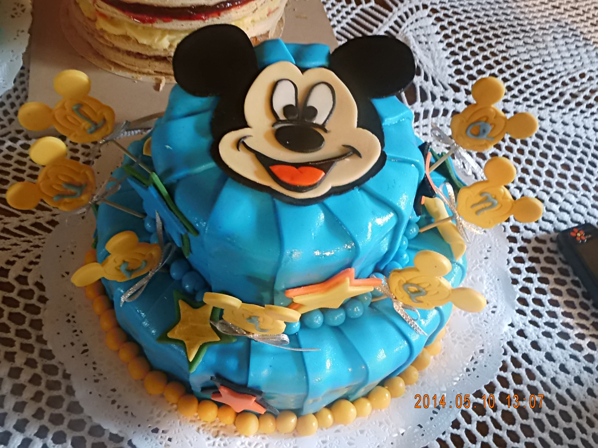 Mickey mouse plizada