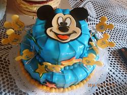 Mickey mouse plizada