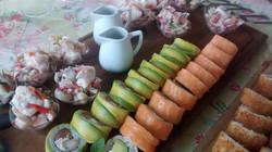 Sushi y ceviche de pulpo (2)