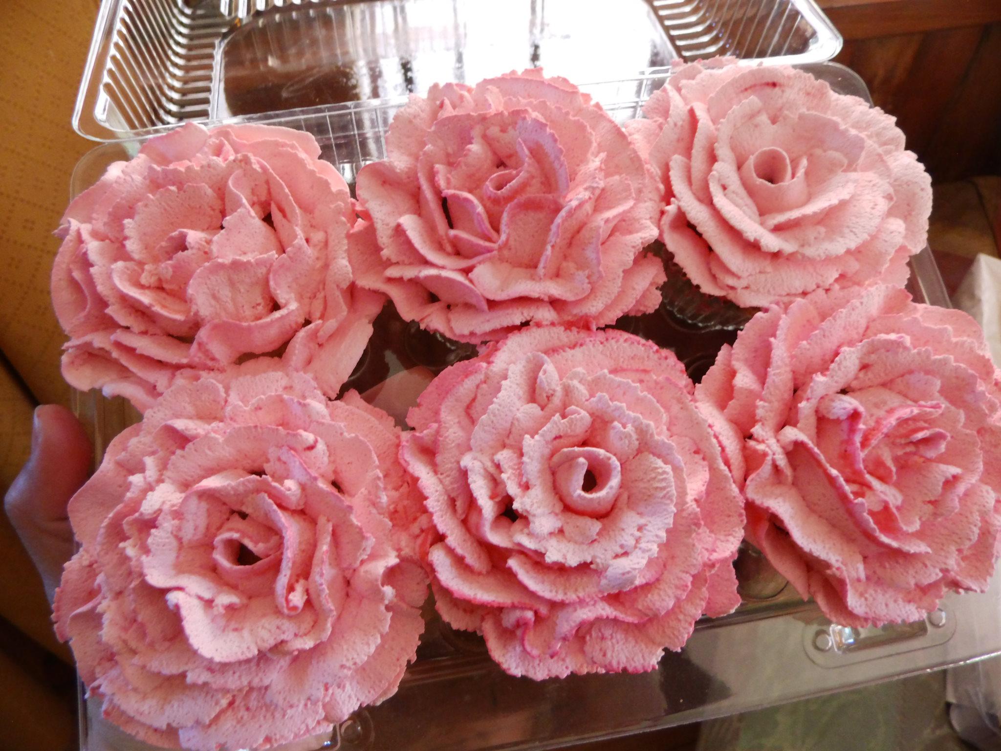 Cupcake rosa