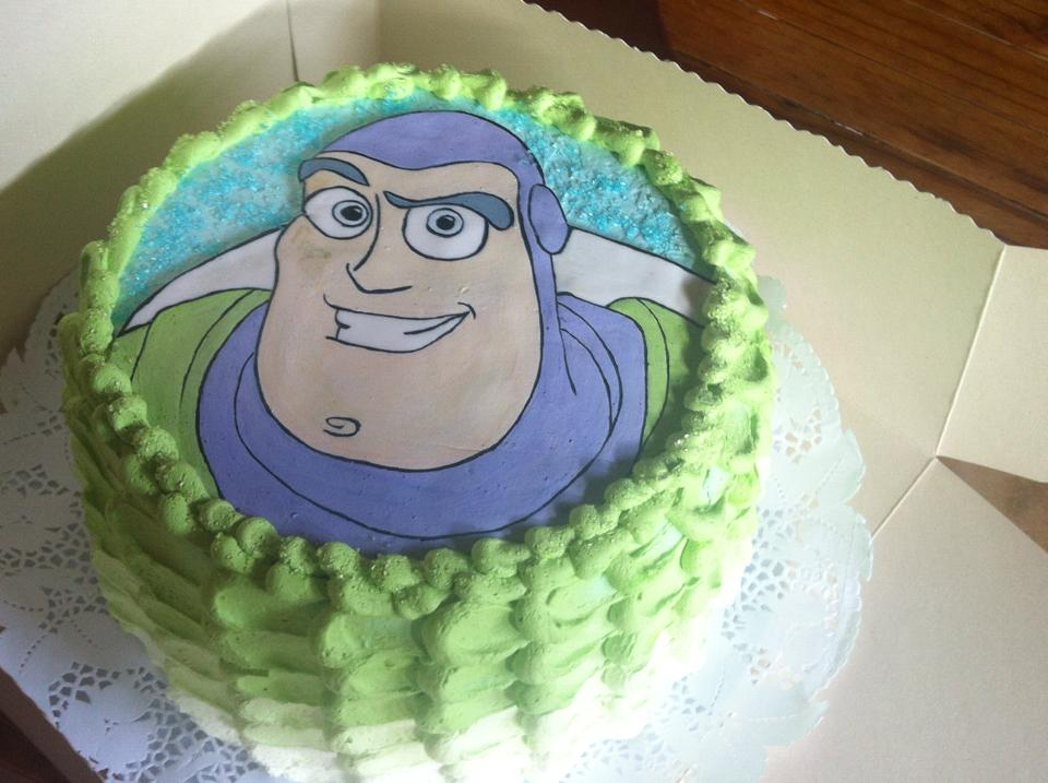 Pastel de Buzz ligthyear chantilly