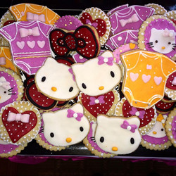 Galletas hello kitty