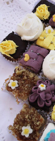 Mini pastelillos de panqueques