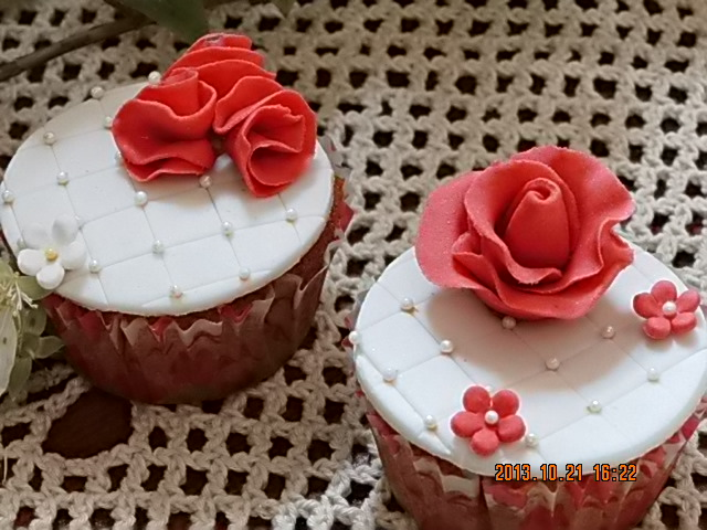 Mini Cupcakes de azúcar