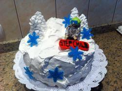 Pastel snowboard
