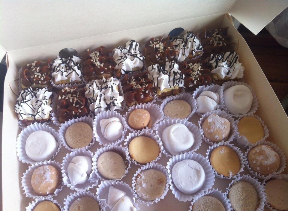 Mini pastelillos de la ligua