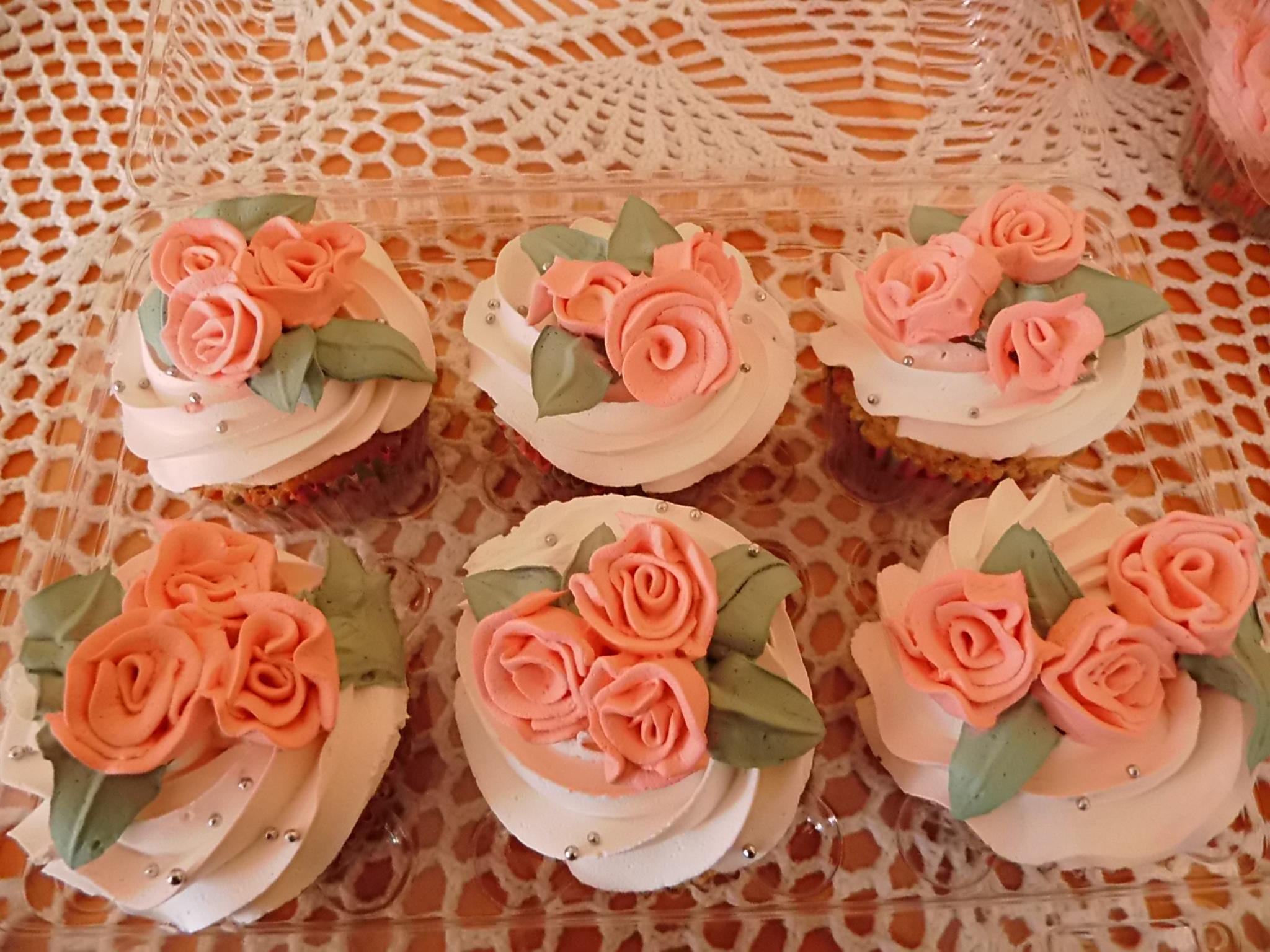 Cupcake rositas