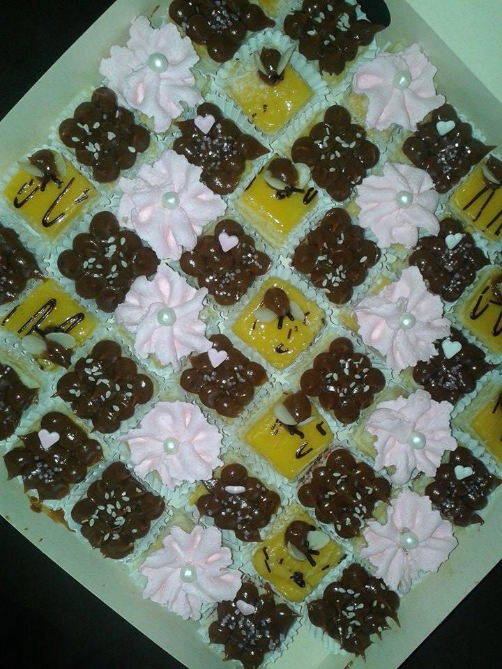 Mini pastelitos de panqueques