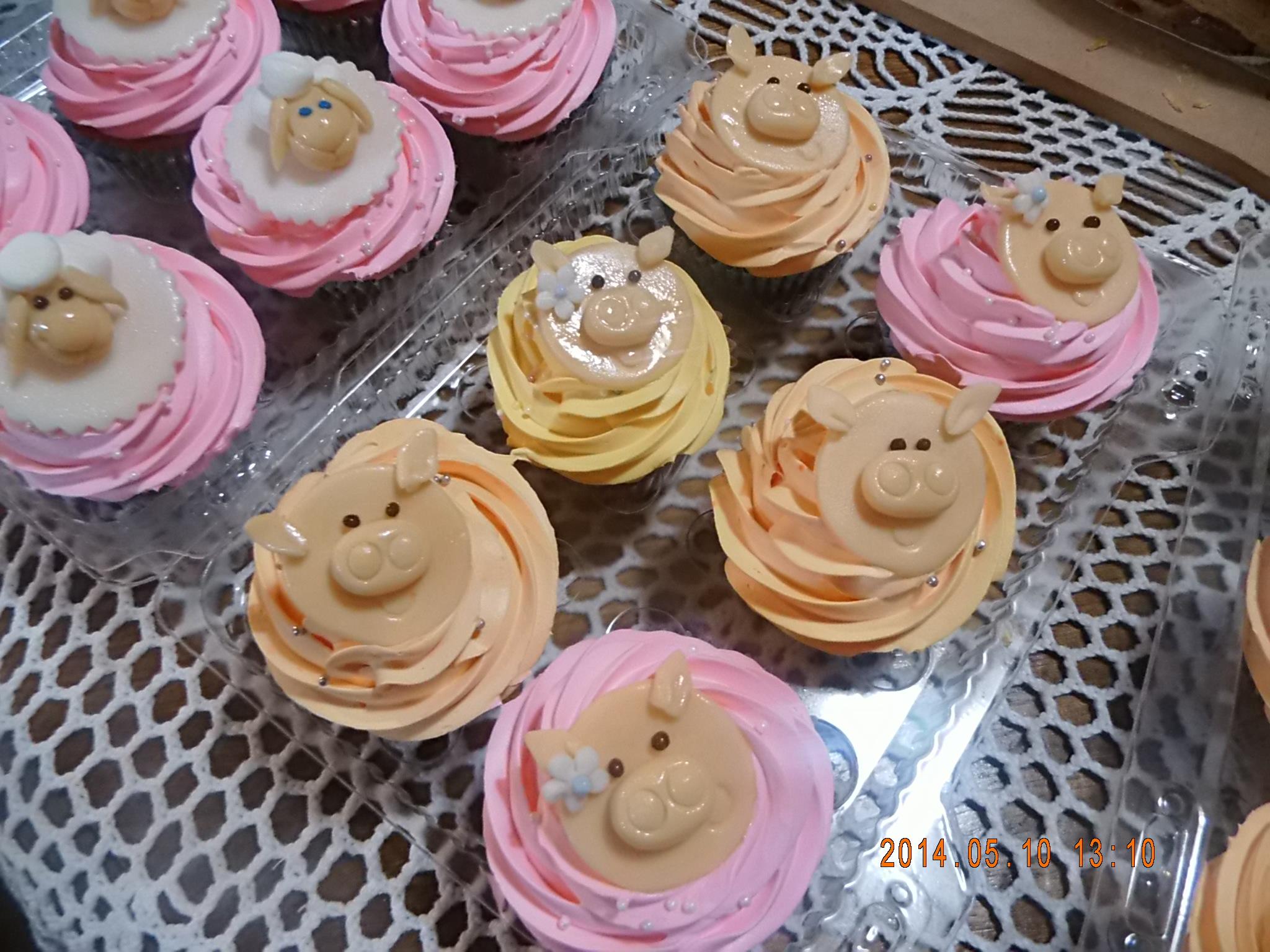 Cupcakes cerditos