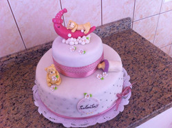 Pastel baby shower Colomba