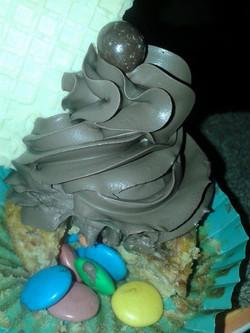 Cupcake relleno de rocklets