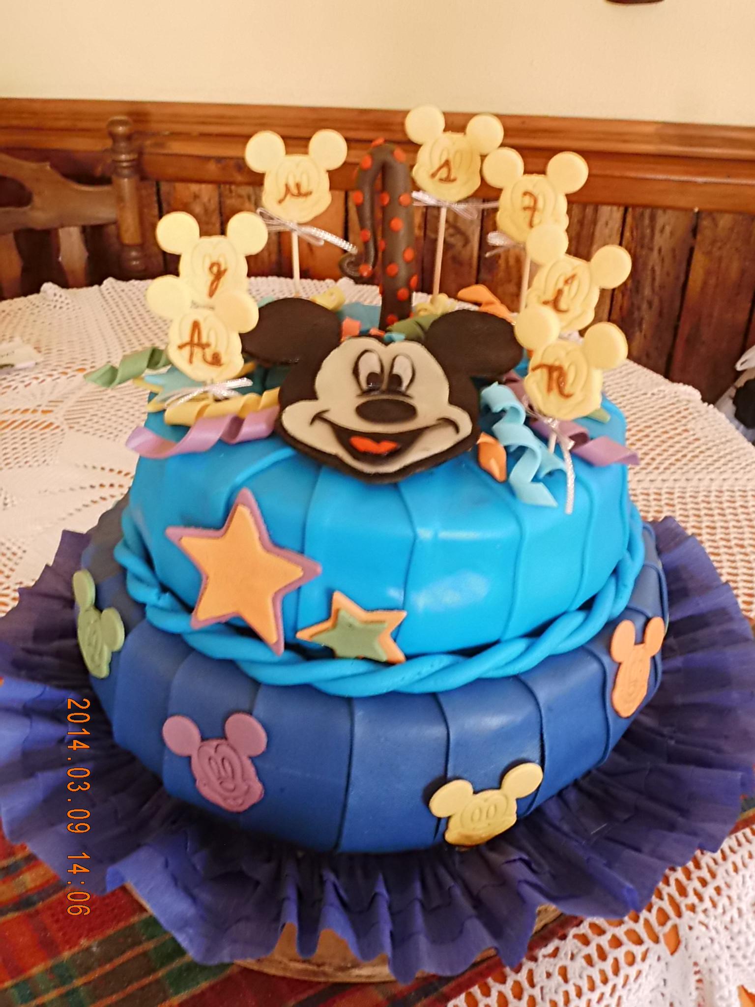 Mickey dos pisos