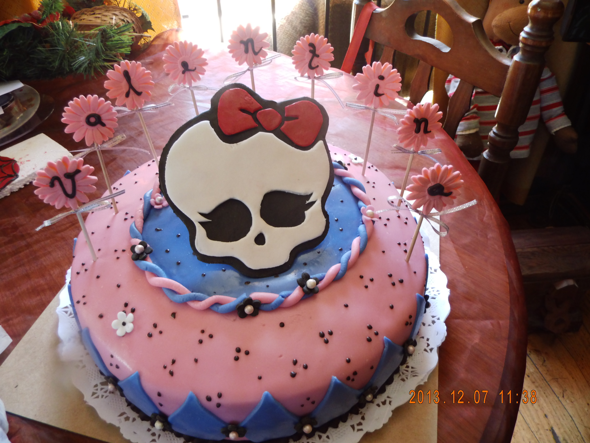 Monster high 30 porciones