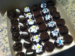 Mini cupcakes tradicionales