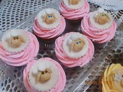 Cupcake ovejas