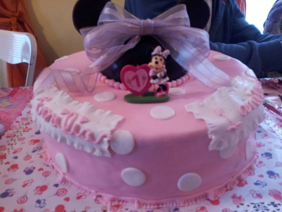 Pastel minnie mousse