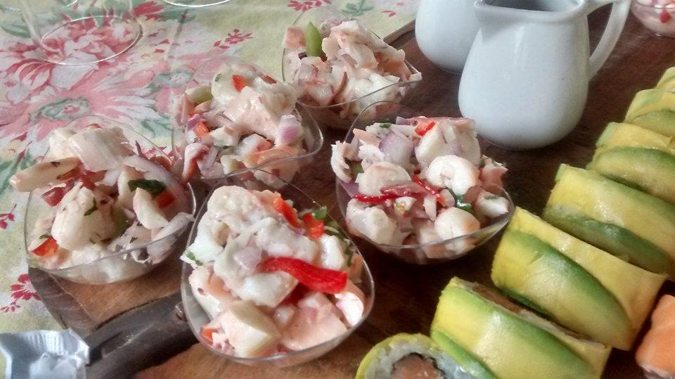 Sushi y Ceviche pulpo