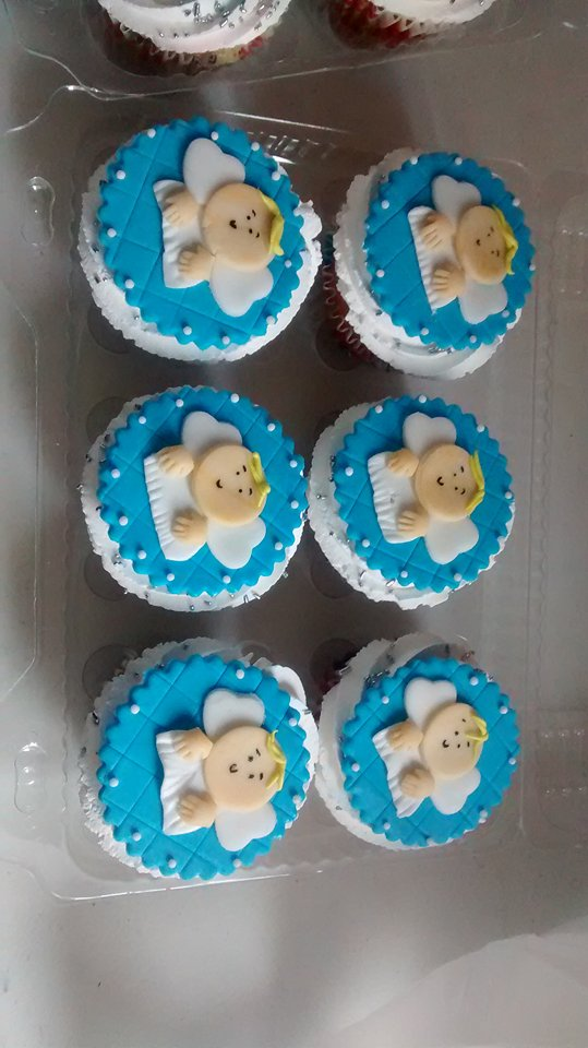 Cupcake angelitos