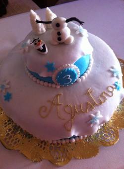 Pastel Frozen con Olaf