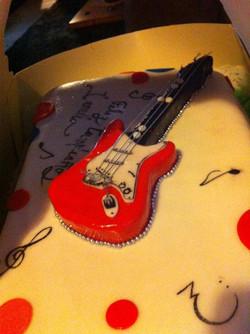 Pastel guitarra
