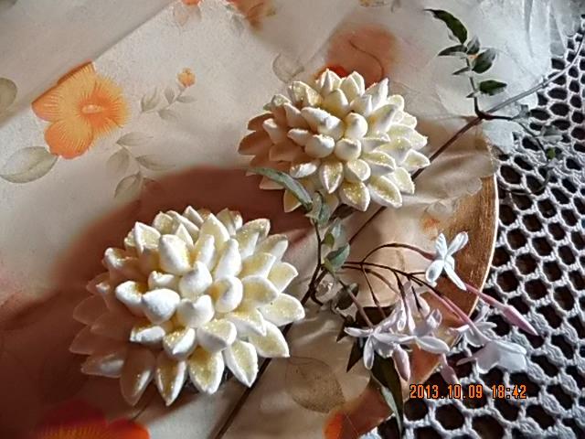 Cupcake crisantemo