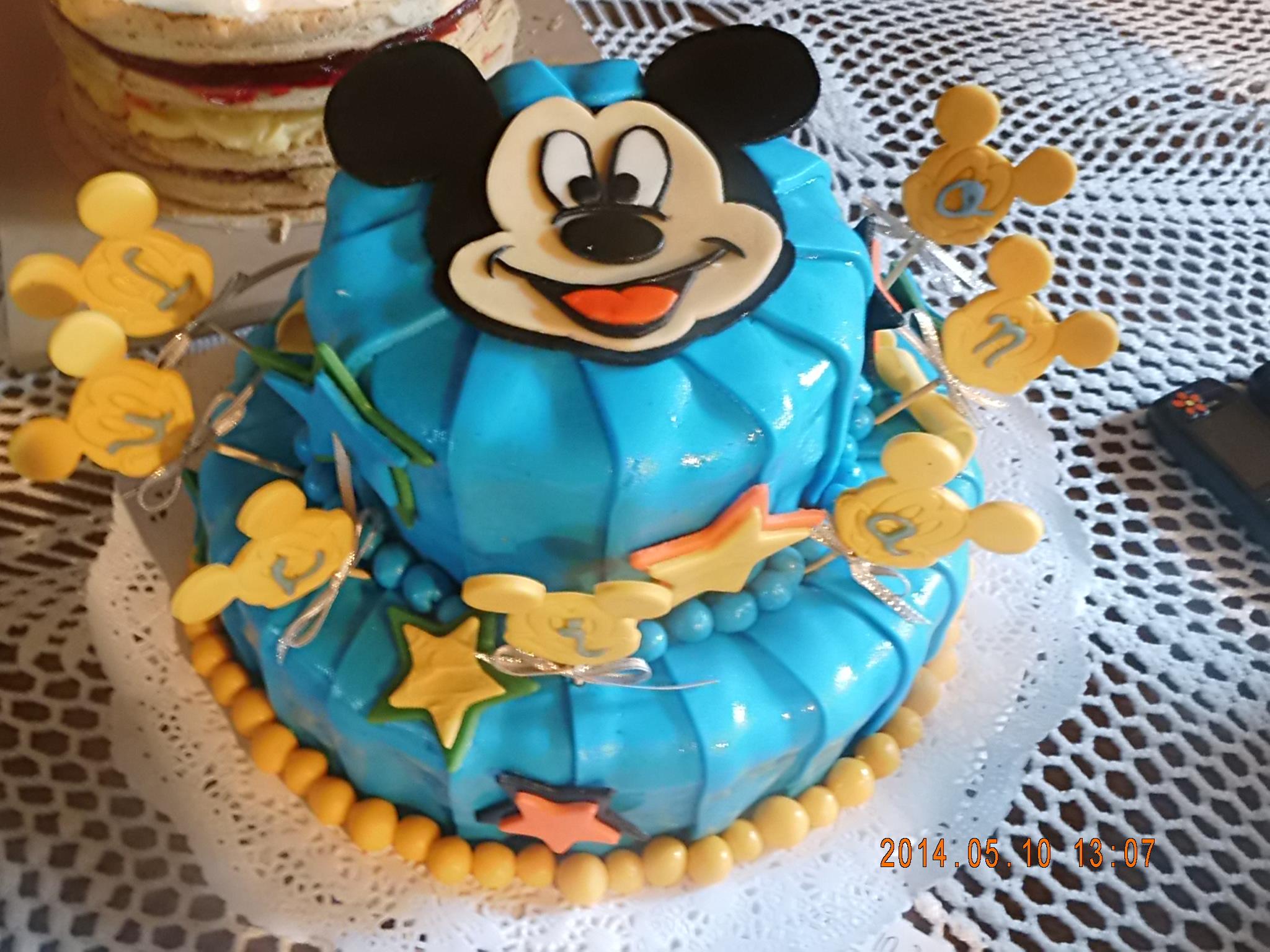 Mickey plisada