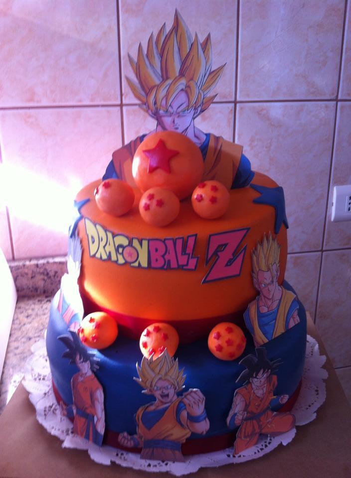 Pastel Goku y Gohan