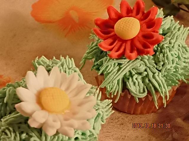 Cupcake de margaritas