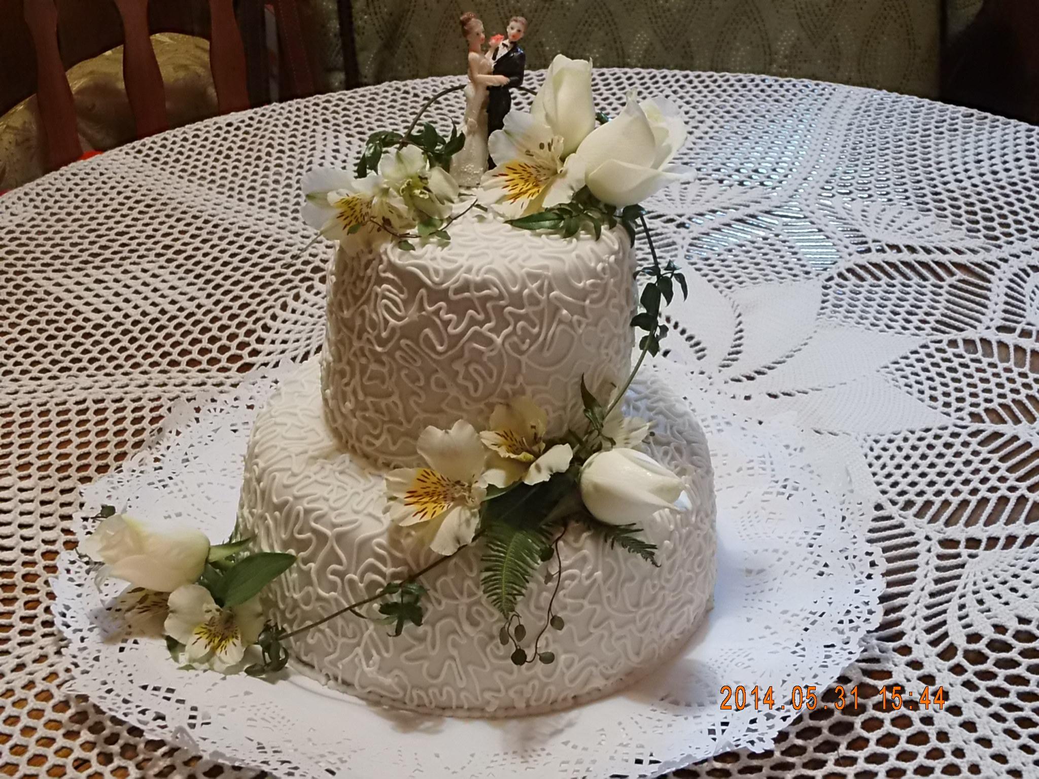 Torta de novios 30 porciones