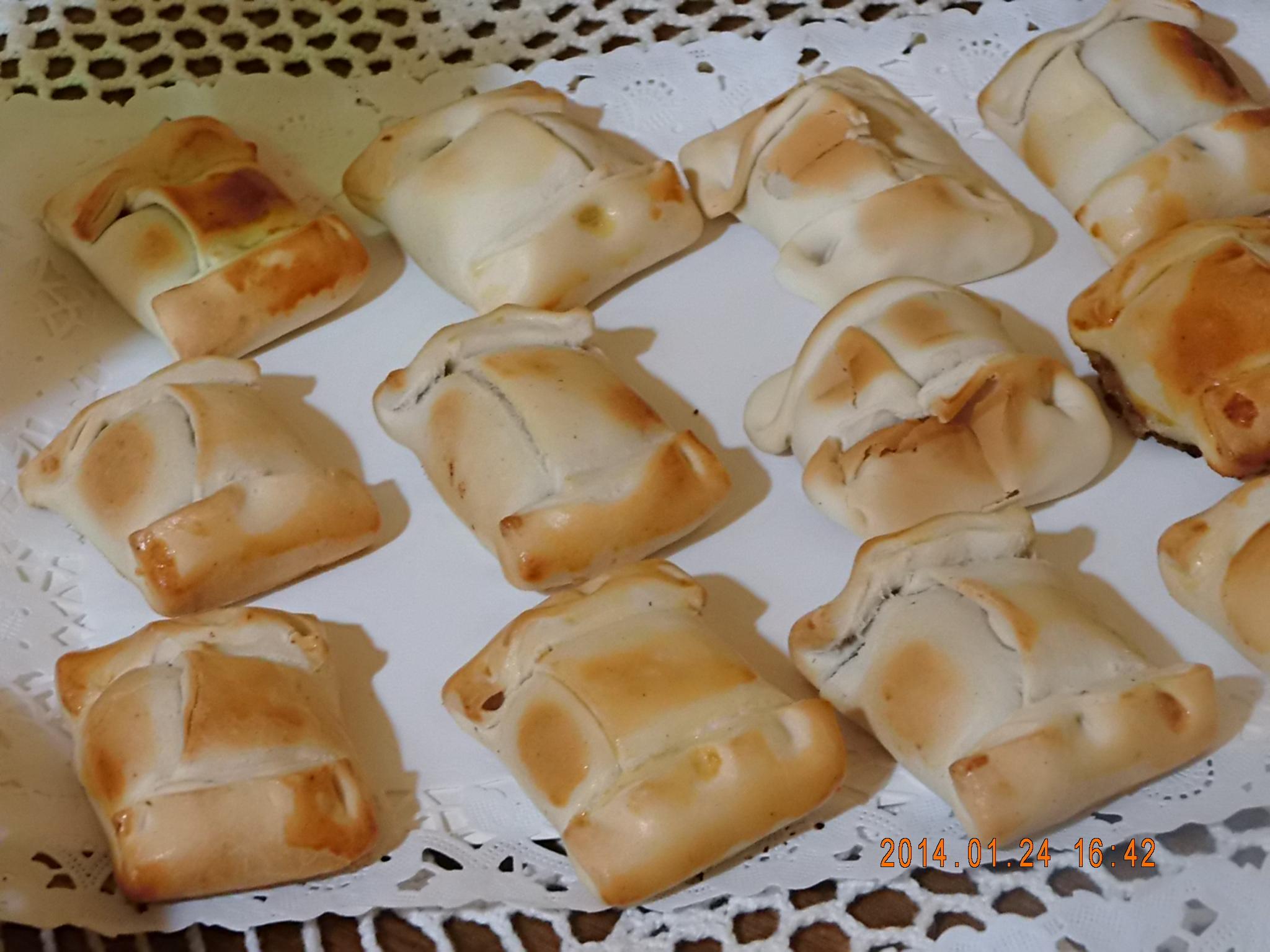 Mini empanaditas de pino