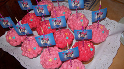 Cupcake de minnie mouse