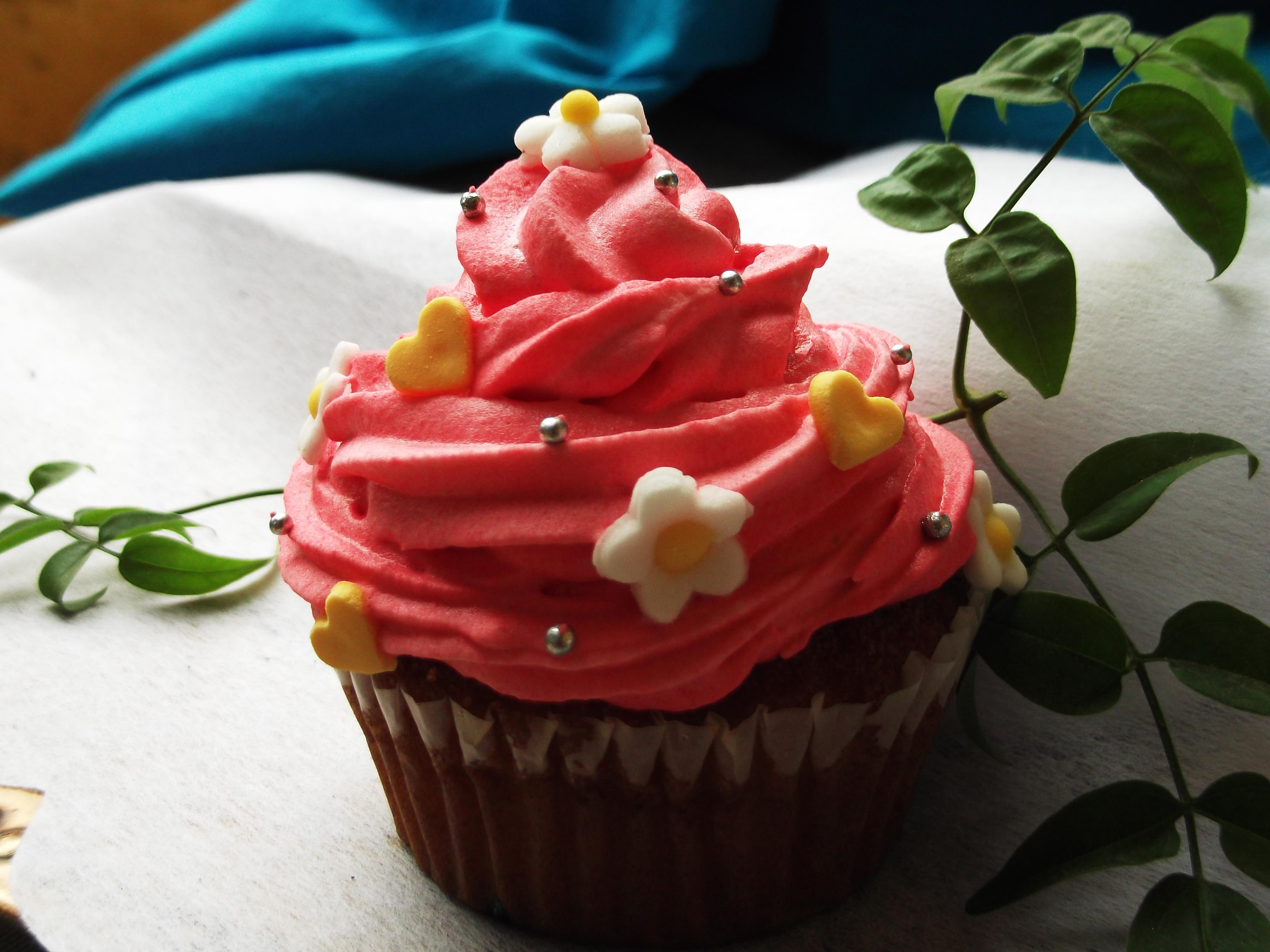 Cupcake primaveral