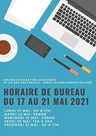 Bleu Bureau Table Félicitations Affiche