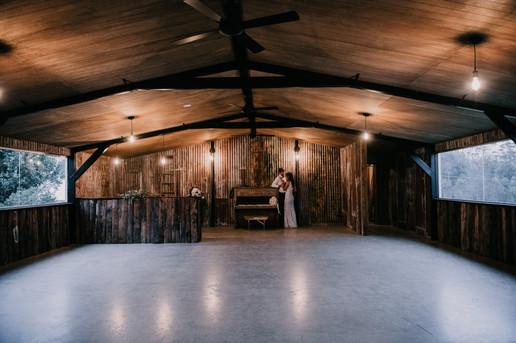 Twilight Rustic Wedding Venue & Piano