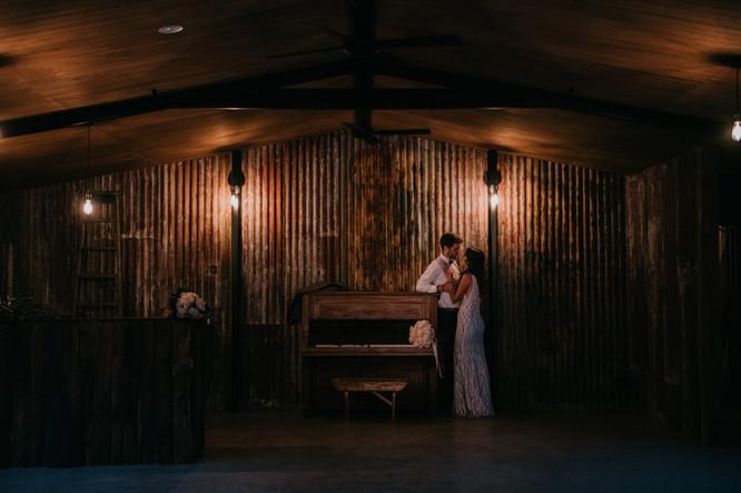 Rustic Wedding Venue & Piano
