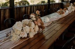 Faux Floral Table Decoration