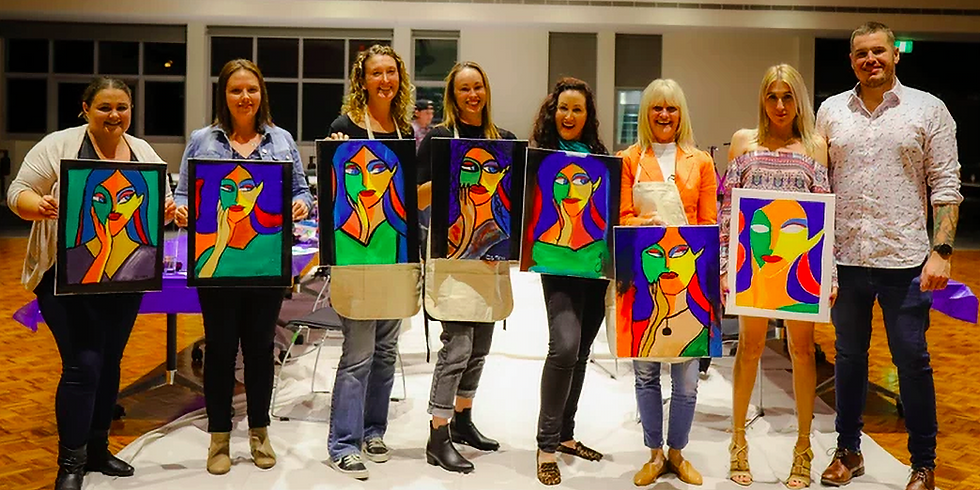 Paint & Sip Experience