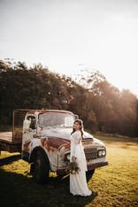 Austin Truck with Bride