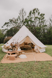Glamping Tent come Bridal Suite