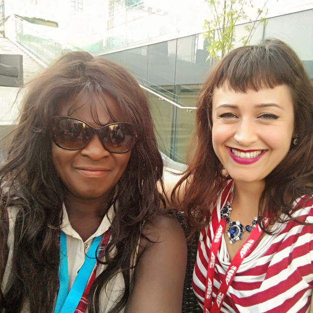 with Tasia from Actra