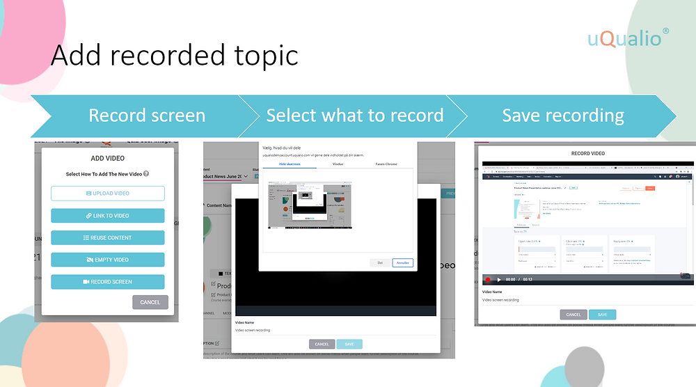 Need to Record Software Training Directly from Your Screen?