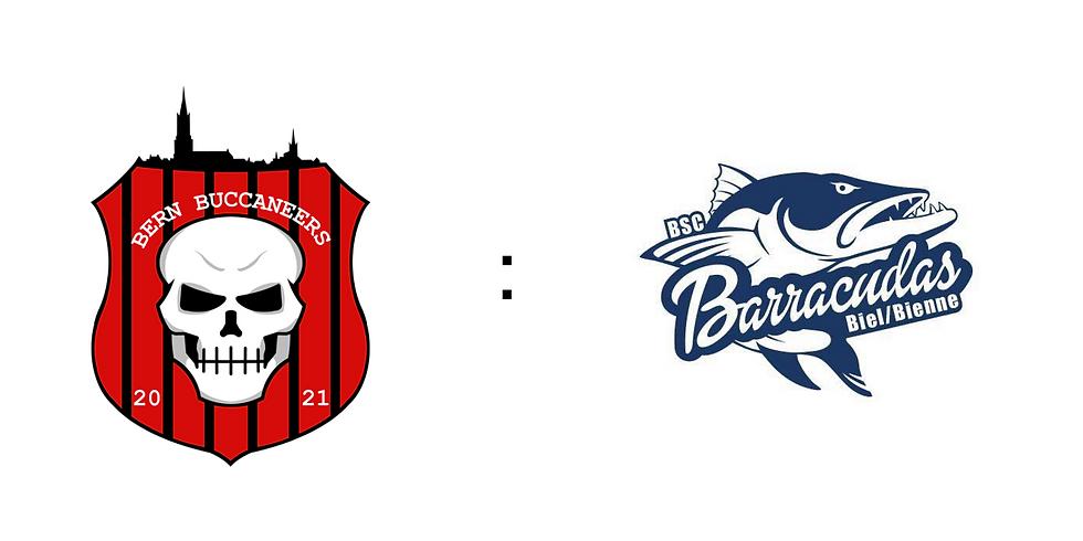 Bern Buccaneers vs. BSC Barracudas Biel/Bienne