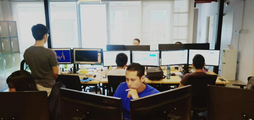 TradingPlc's Traders at work