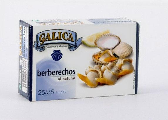 GALICA BERBERECHOS AL NATURAL 25-35 piezas