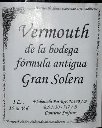 Vermouth de la Bodega fórmula antigua. Gran Solera BLANCO